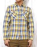 (アビレックス)AVIREX ネルシャツ シャツ チェック ワーク デイリー フランネル スプリング 6135032 XL 056モカ