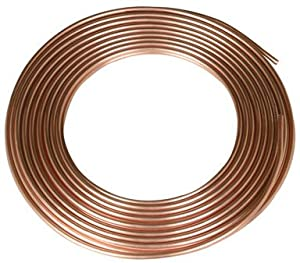 "Refrigeration Copper Tubing, 1/8"" x 50'"