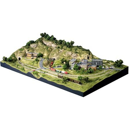 Woodland Scenics N Scale Scenic Ridge Layout Kit (Model Trains N Scale compare prices)