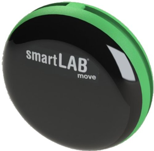 ZLSQ5 fitmefit premium account and smartLAB®move B Pedometer green with Bluetooth Smart (BLE) wirless data transfer
