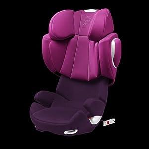 cybex solution q fix car seat group 2 3 lollipop amazon. Black Bedroom Furniture Sets. Home Design Ideas