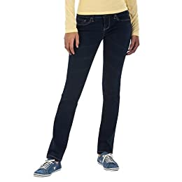 Product Image Converse® One Star® Womens Low Rise Skinny Jean - Dark Blue Denim