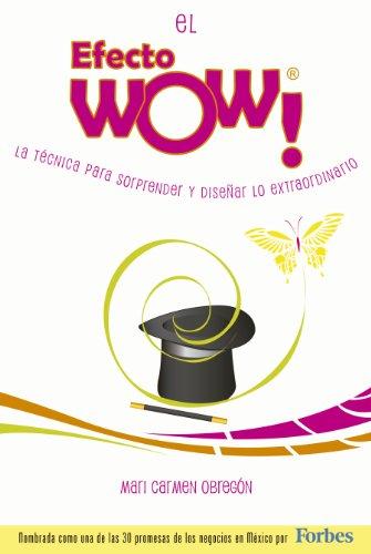 Portada del libro El efecto wow de Mari Carmen Obregón