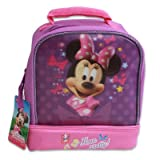 9h Minnie Mouse Drop Bottom Lunch Bag