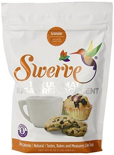 Make No Flour, No Sugar Crepes with Swerve Sweetener, Bakers Bundle, 16Oz Granular and Confectioners