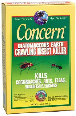 diatomaceous earth fleas concern 97024 diatomaceous earth crawling insect killer 1 5 pound box. Black Bedroom Furniture Sets. Home Design Ideas