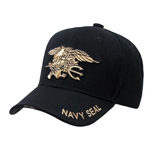 Black Navy Seal Embroidered Military Baseball Cap Hat by Rapid Dominance (Seal Cap compare prices)