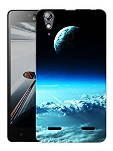 """Humor Gang Earth From Above Printed Designer Mobile Back Cover For """"Lenovo A6000 - A6000 PLUS"""" (3D, Matte, Premium Quality Snap On Case)"""