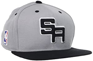 NBA San Antonio Spurs Authentic On-Court Adjustable Snapback Hat, One Size