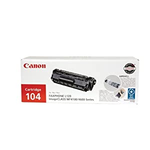 Canon 104 Toner Cartridge - Black