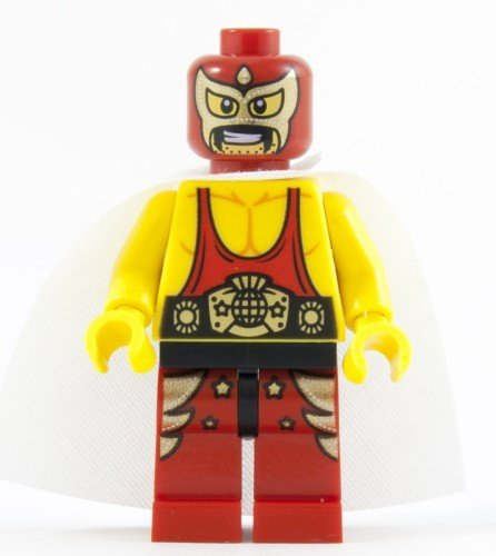 LEGO The Movie LOOSE Minifigure El Macho the Wrestler - 1