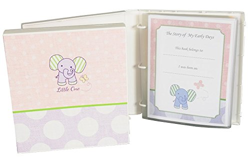 Baby Girl Memory Book - Elephant