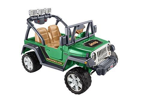 Power Wheels Deluxe Jeep Wrangler front-618176