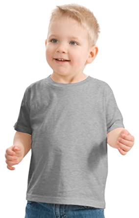 Precious Cargo Toddler Crewneck T-Shirt, Athletic Heather, 2T