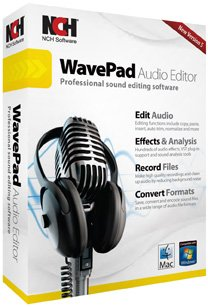 WavePad Sound Editor Software (Mac OS X, Win XP/Vista/7)