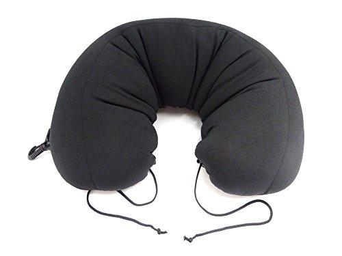Pulleys Travel Pillow 好きな形に変えられる旅行用まくら・だっこ枕 ブラック Pulleys