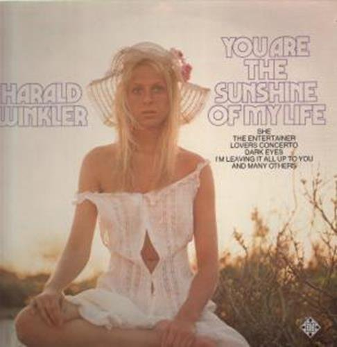 You Are The Sunshine Of My Life LP (Vinyl Album) German Telefunken 1975 by Harald Winkler