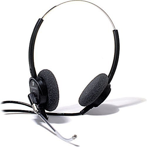 Plantronics Supra Binaural Headset With Noise Cancelling Microphone