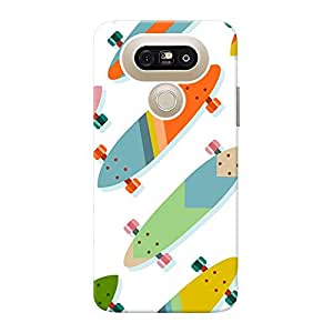 Inkif Back Cover For Lg G5 (Multi-Coloured)