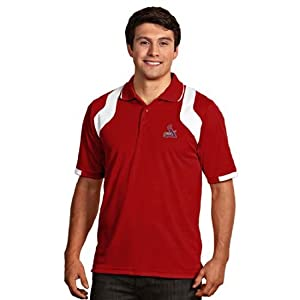 St Louis Cardinals Fusion Polo (Team Color) by Antigua