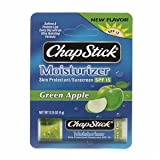 Chapstick Green Apple Moisturizer Lip Balm SPF 15