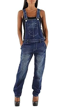damen latzhose jeans latzhose denim frauen latzhose. Black Bedroom Furniture Sets. Home Design Ideas