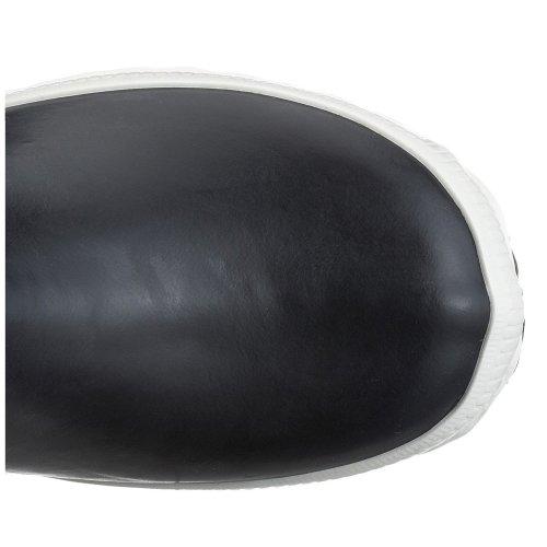 Aigle Giboulee Gummistiefel 2453 Unisex-Kinder Warm gefüttert Gummistiefel Langschaft Stiefel & Stiefeletten, Blau (Marine/Blanc), 28 EU (UK Child 10) -