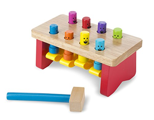 Deluxe Pounding Bench Activity Center