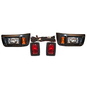 Club Car DS Golf Cart Tail Light and Headlight Kit 1982 - 2008 by GPD