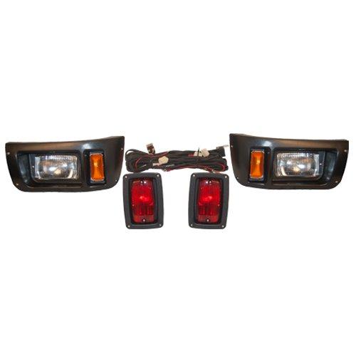 Club Car Ds Golf Cart Tail Light And Headlight Kit 1982 - 2008