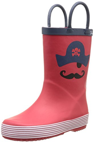 Be Only - Mousty, Polacchine unisex bambino, color Rosso (Rot - rot), talla 32