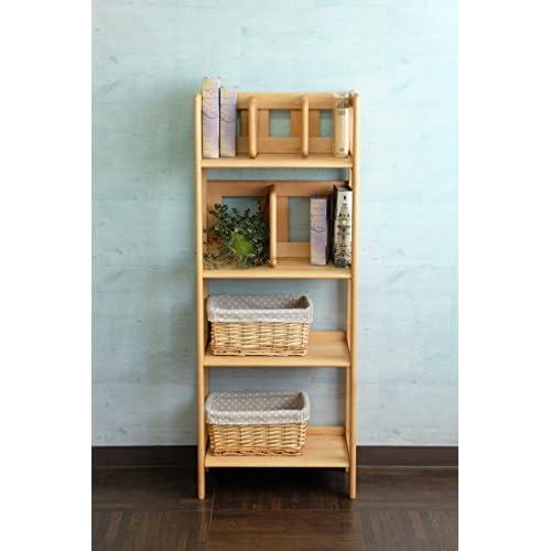 予約販売中! ISSEIKI キッズラック 木製棚 【アルダー材・自然オイル使用】 お子様のために作りました ナチュラル アルダー材