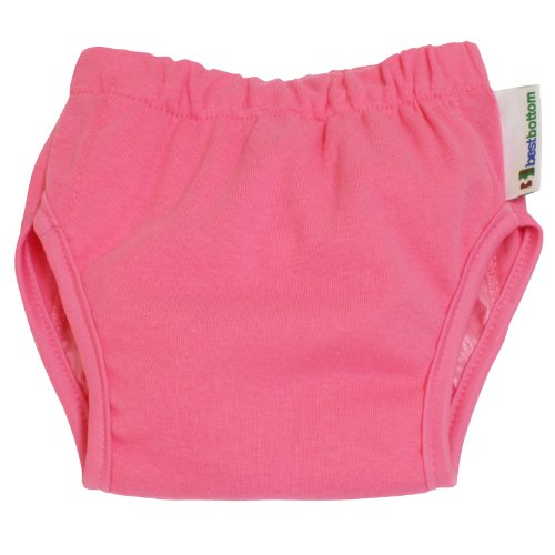 Best Bottom Training Pants, Bubblegum, Small