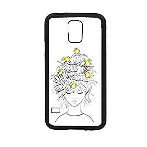 Vibhar printed case back cover for Samsung Galaxy S5 HairNest