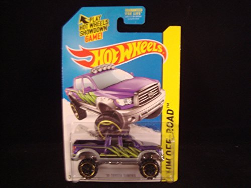 2014 Hot Wheels Hw Off-Road '10 Toyota Tundra - Purple - 1