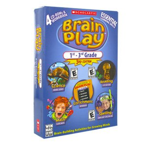Brain Play 1St - 3Rd Grade, 3Rd Edition front-779947