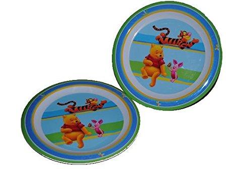 2-teiliges-Set-Teller-Winnie-the-Pooh-Kche-Essen-Kinder-Kindergarten-Schule