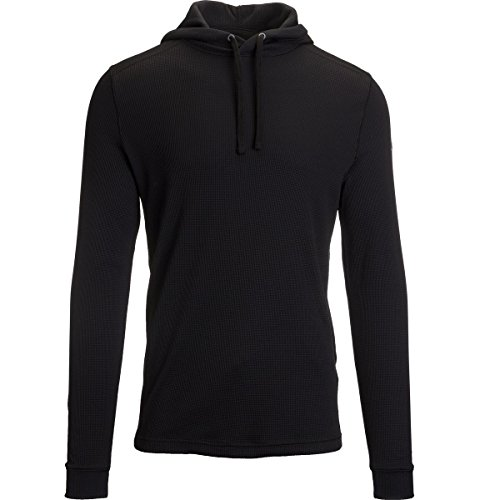 Mens Under Armour Amplify Thermal Hoody, Black, Large