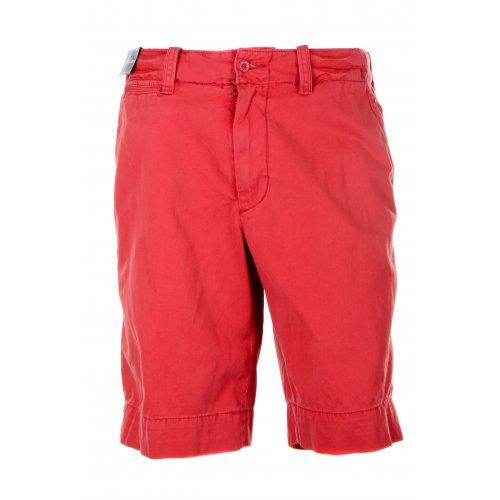 Polo Ralph Lauren mens rugged bleeker chino shorts in red pepper 34