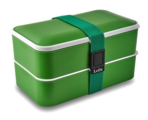 LeOx - Lunchbox Bento Box (verde)