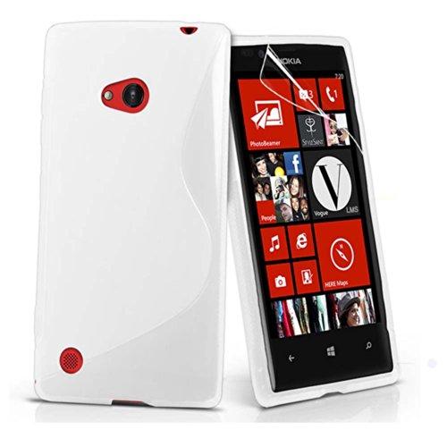 ESI Transparent Soft TPU Gel Back Case Cover For Nokia Lumia 720