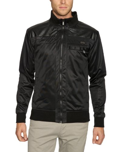 Iron Fist Seething Track Mens Jacket Black Small