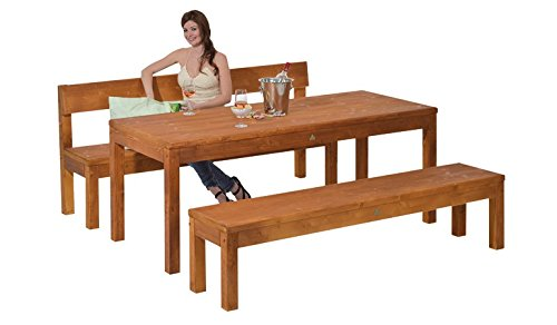 Gartentisch Holztisch Loungetisch Tisch Esstisch Küchentisch Gartenmöbel (150x80x75 Fichte impraegniert)