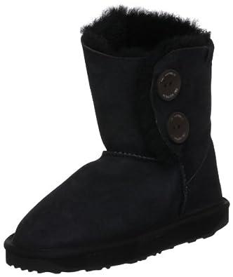 Emu Australia Women's Valery Lo Black Mid Calf Boots W10541 3 UK