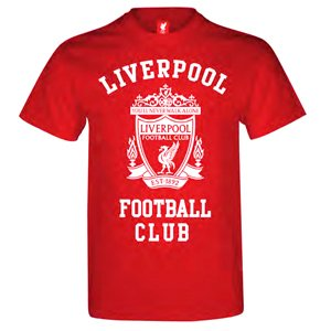 Liverpool Red T-Shirt - L