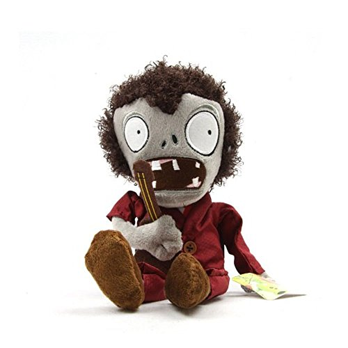 """Gooband® Plants Vs Zombies Plush Guitar Dancing Zombie 10.6"""" / 28cm Doll Stuffed Animals Figure Soft Anime Collection Toy"""