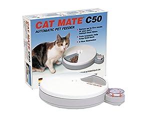 Rosewood - Catmate C50 - Distributeur de nourriture pour chat - 5 repas