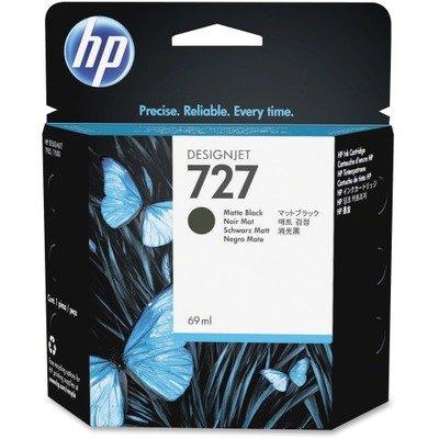 Hewlett Packard - HP 727 - Noir mat - original - cartouche d'encre - pour DesignJet T1500, T2500, T920