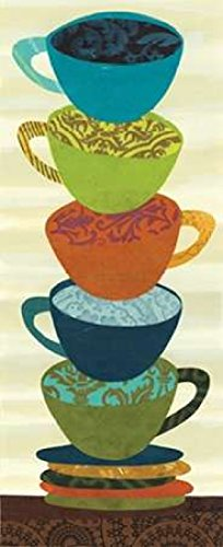 Stacking Cups II Poster Print by Jeni Lee (24 x 48)