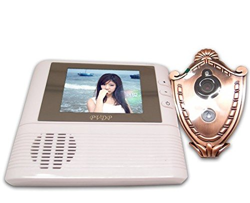 "2.8"" Lcd Monitor Digital Door Peephole Viewer 3X Zoom Camera Photo Cam Video Doorbell Peephole Intercom"